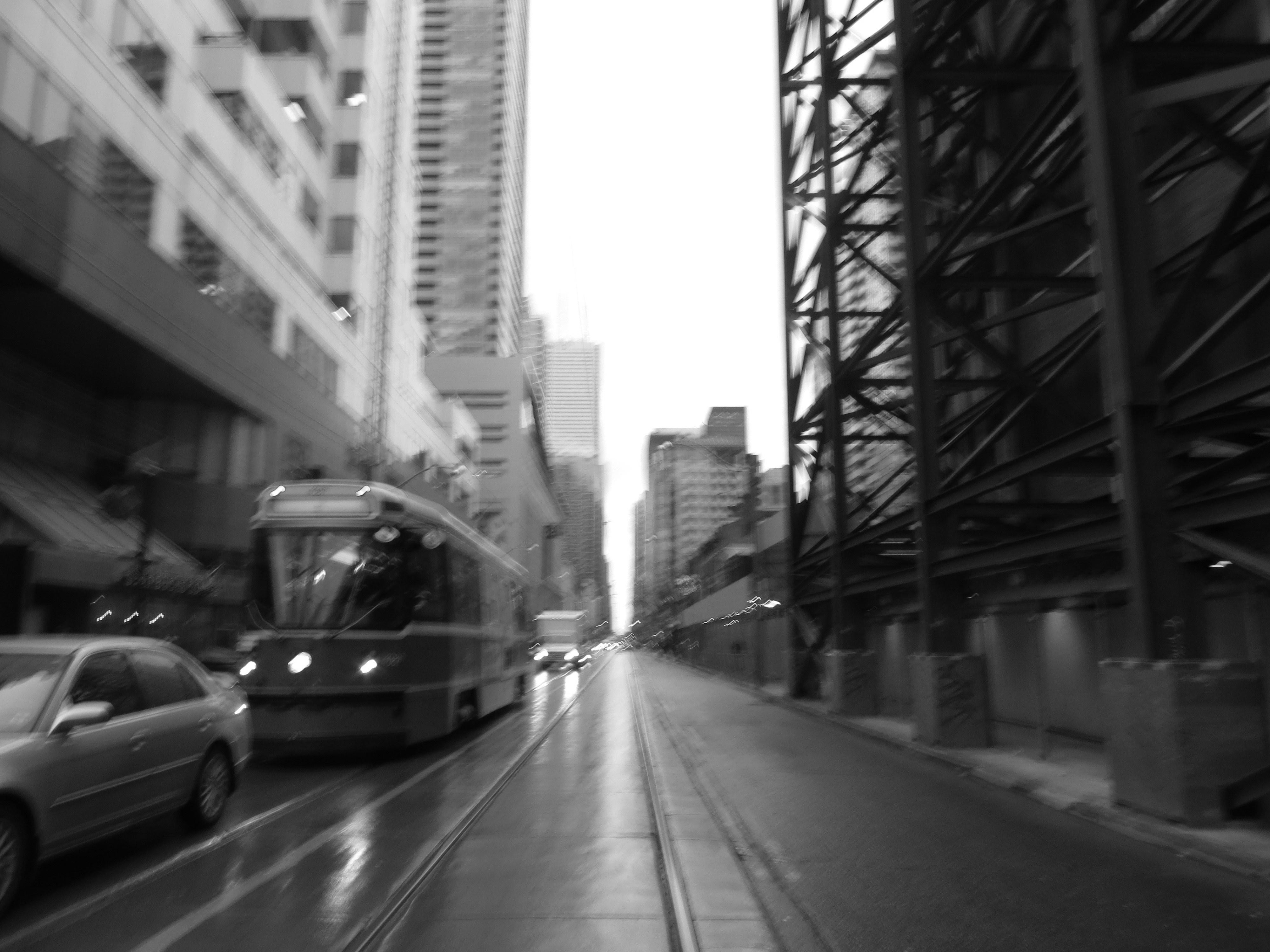 Tram away