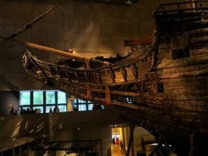 The front of the Vasa