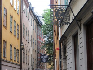 Old houses in Gamla Stan