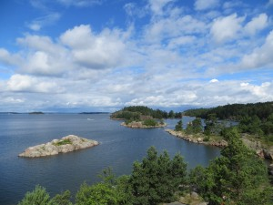 View from one of the Archipelago islands