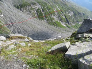 Our path to the Edelrauthütte