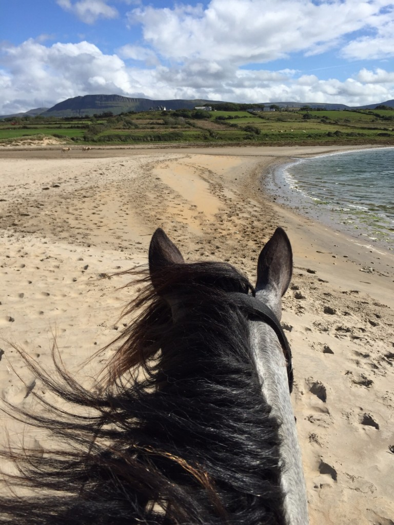 Ride on the beach